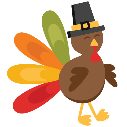 clip library stock Thanksgiving Turkey SVG scrapbook cut file cute clipart files for