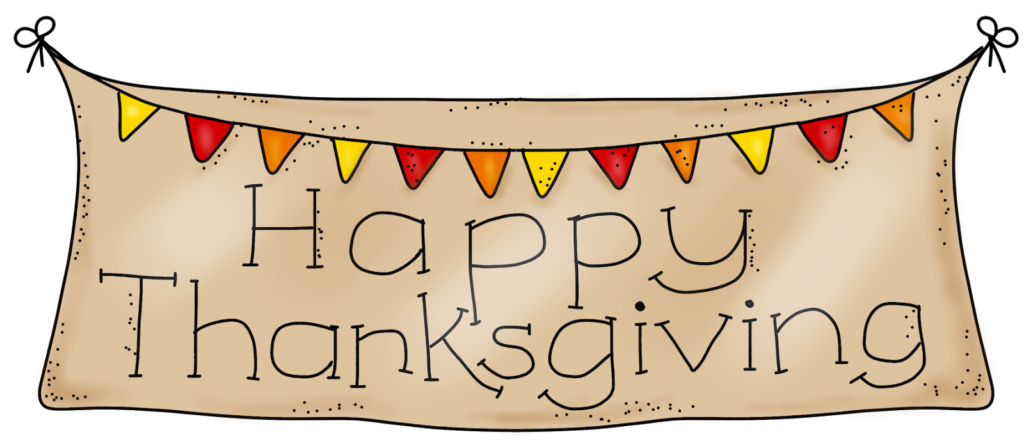 banner freeuse library Happy Thanksgiving Clipart
