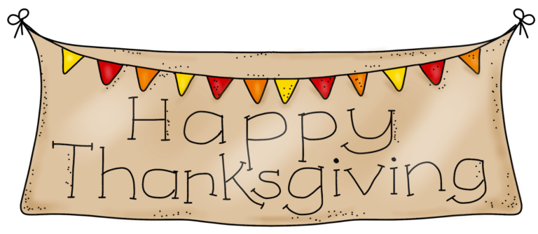 jpg library download Thanksgiving clipart. Happy free black and