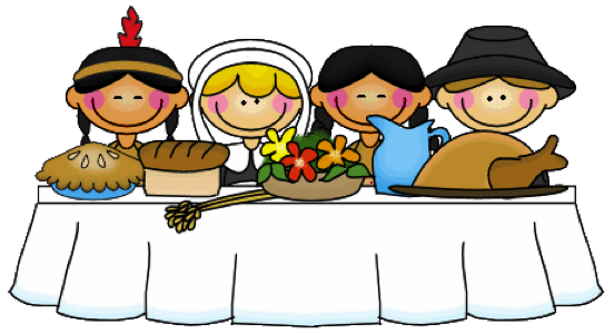 image free stock First Thanksgiving Clipart