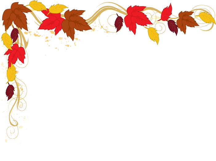 image library stock Thanksgiving clipart borders.  collection of corner