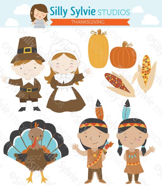 png free stock Pilgrims kids clipart. Thanksgiving clip art turkey