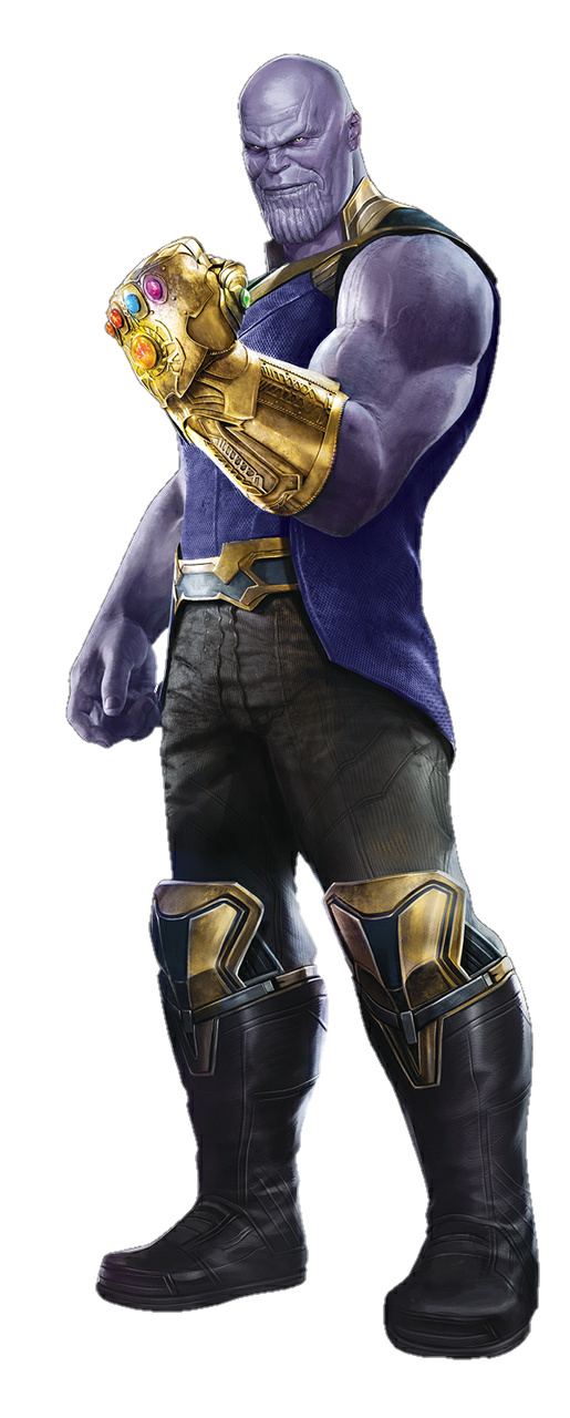 graphic library library Avengers Infinity War Thanos PNG by Metropolis