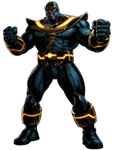clip black and white Thanos
