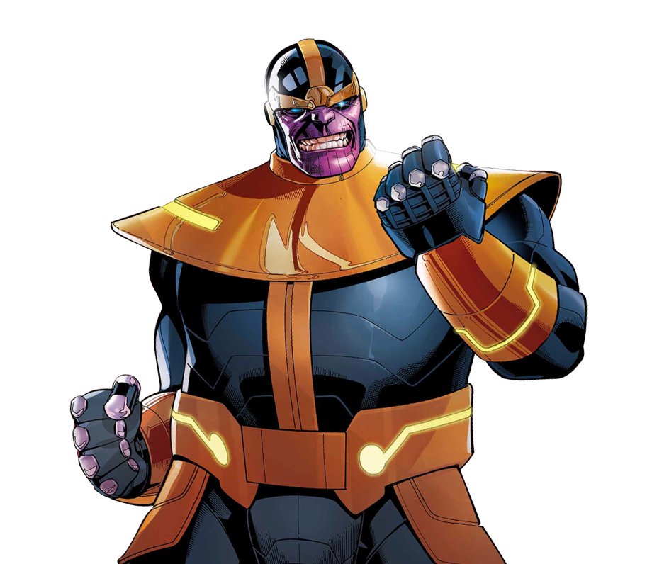 clip royalty free library Thanos Render by Franky