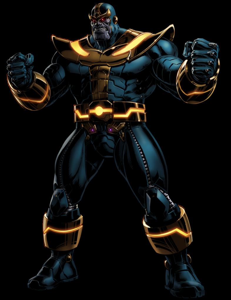 banner transparent Marvel Avengers Alliance Thanos by ratatrampa