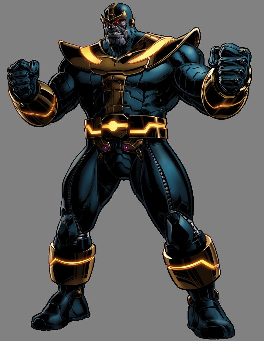 graphic black and white stock Thanos
