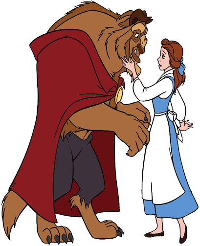 clipart free library Belle transparent human. And the beast clip