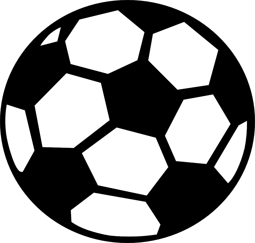 library Shadow football free on. Black and white clipart