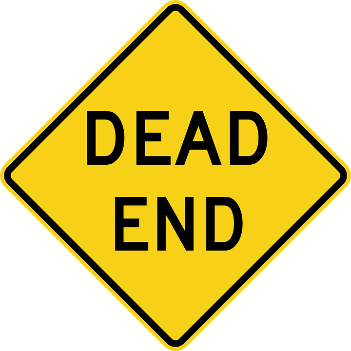 free Dead End Road Sign transparent PNG