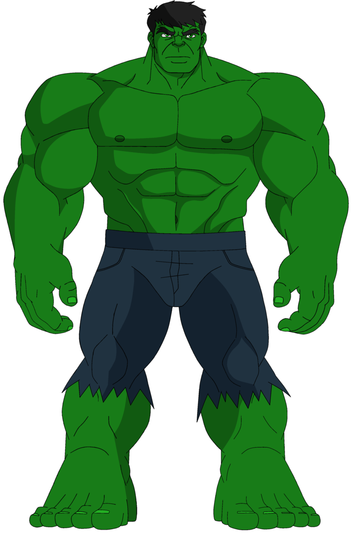 clipart black and white the hulk clipart #64938663