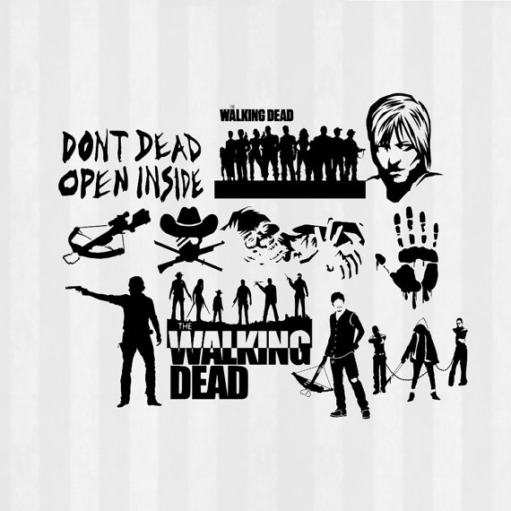graphic library stock The walking dead clipart. Free cliparts download clip.