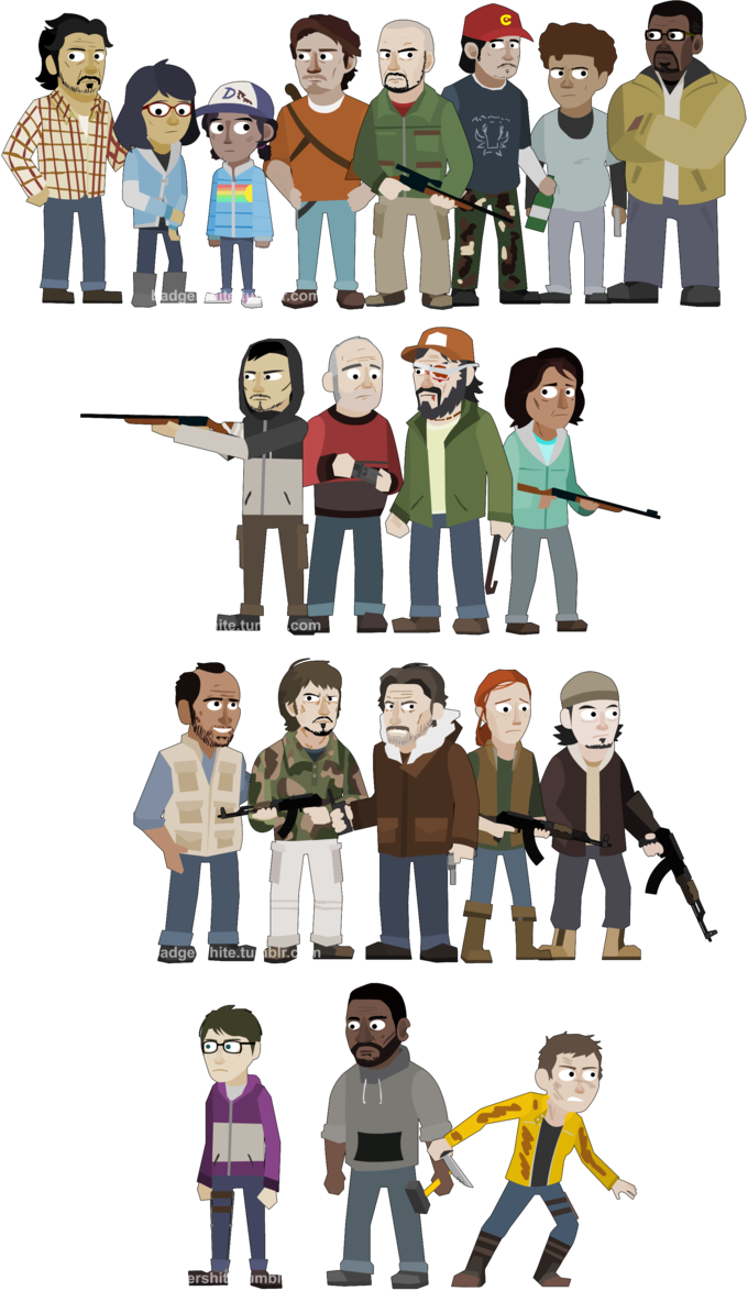 image royalty free download The walking dead clipart. Season by jakest on
