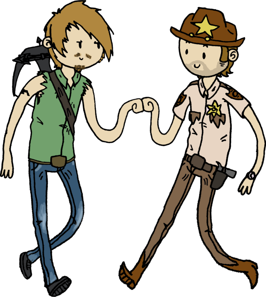 clip Brofist by dragon flash. The walking dead clipart