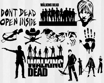 graphic library stock Free cliparts download clip. The walking dead clipart.