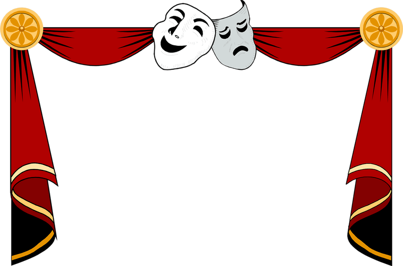 clipart stock Theatre child free on. Theater clipart