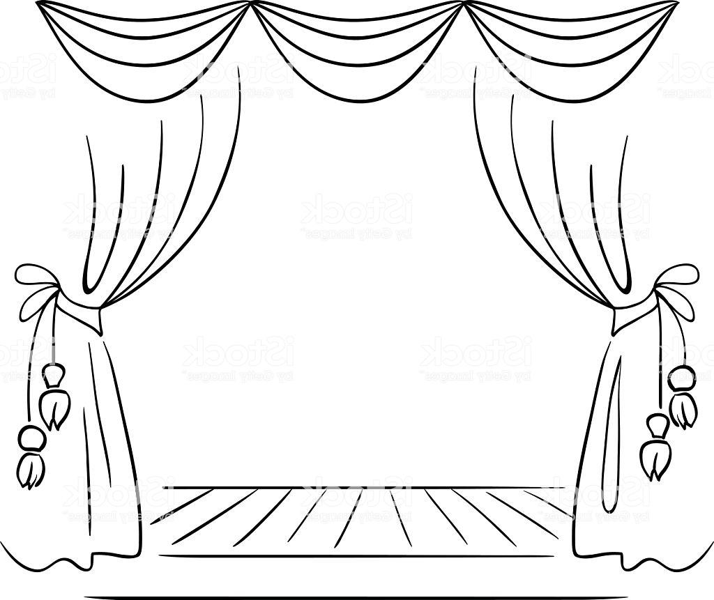 vector royalty free Theater Drawing at PaintingValley