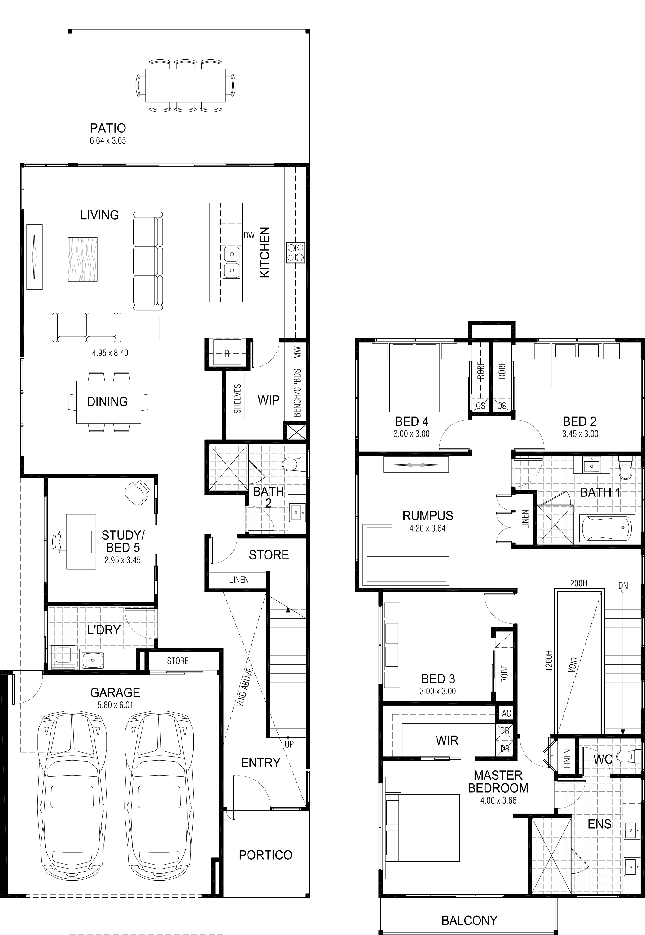picture black and white Floor plan