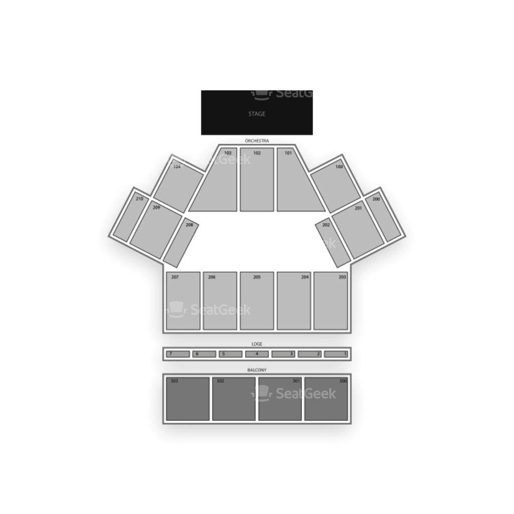 vector black and white download Toyota Oakdale Theatre Seating Chart