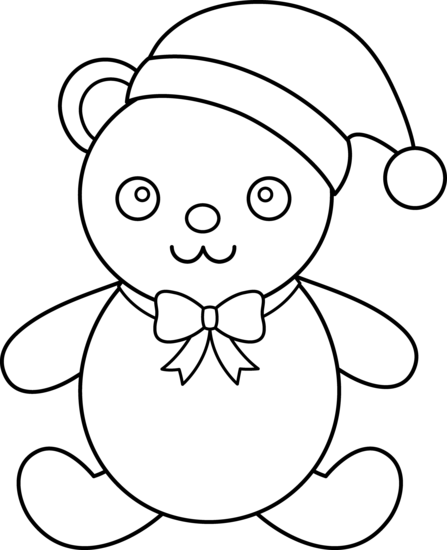clip royalty free Line Drawing Teddy Bear at GetDrawings