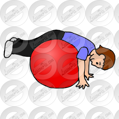transparent download Therapy clipart therapy ball. Picture for classroom use.