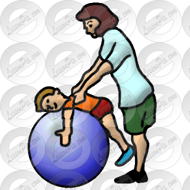 transparent download Picture for classroom use. Therapy clipart therapy ball.