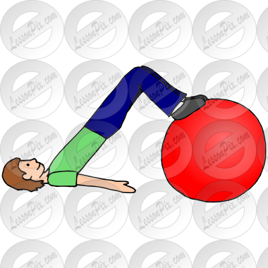 clipart free library Feet on picture for. Therapy clipart therapy ball.