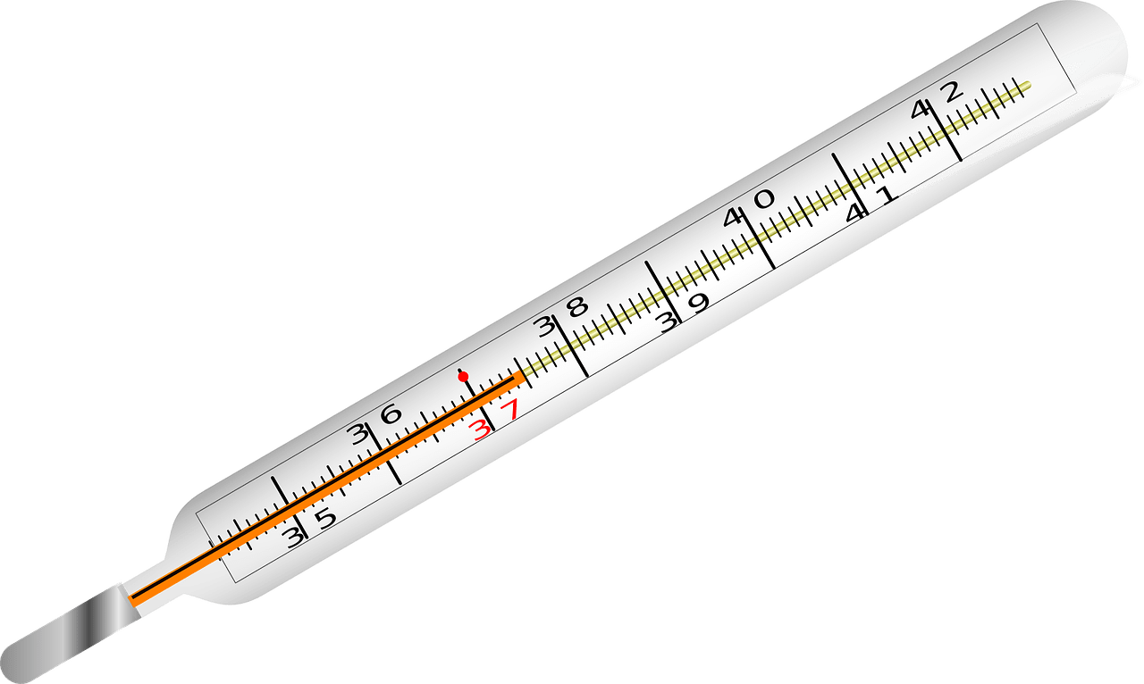 royalty free stock thermometer