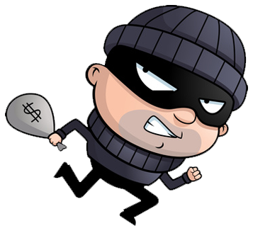 royalty free stock Burglar clipart theives. Efficient experimentation and the.