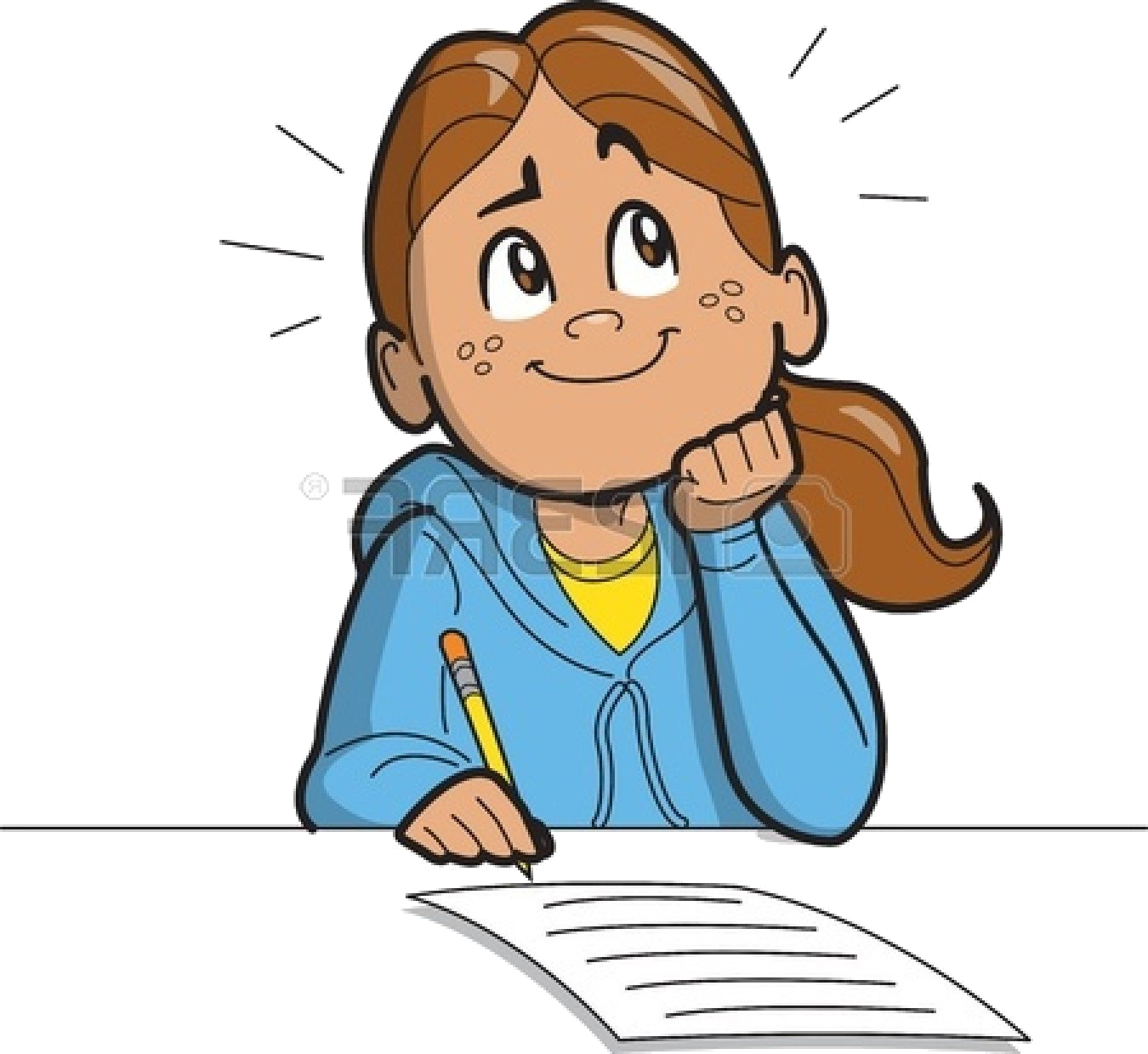 svg free download Girl free clip art. Thinking clipart