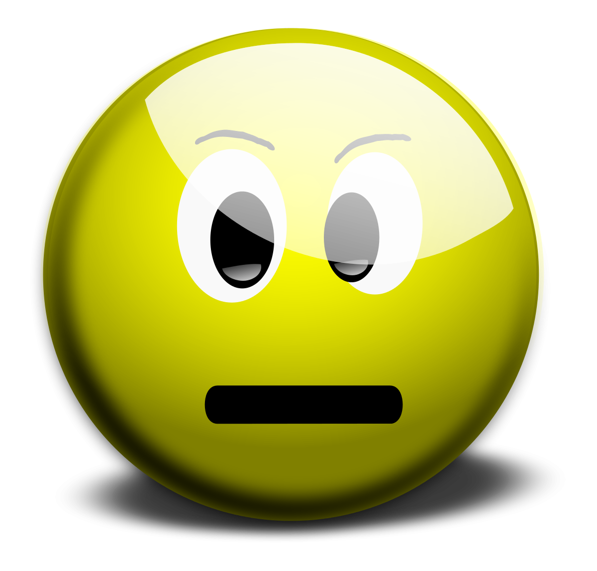 picture royalty free stock Smiley jokingart com thinking. Yes clipart smily face