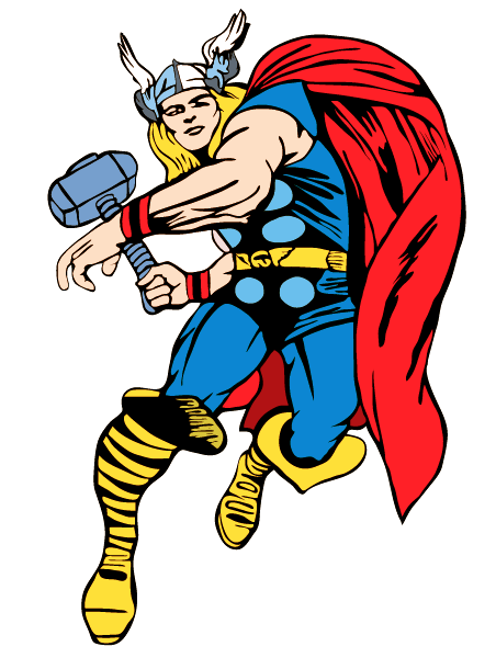 vector library stock Thor clipart. Free cliparts download clip