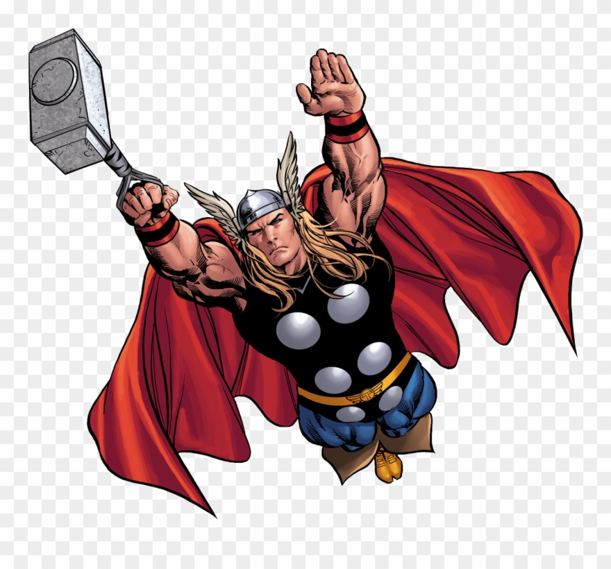 graphic black and white Png transparent image marvel. Thor clipart