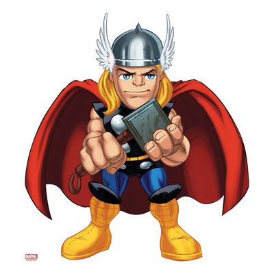 jpg freeuse download Thor clipart. Poster marvel super hero.
