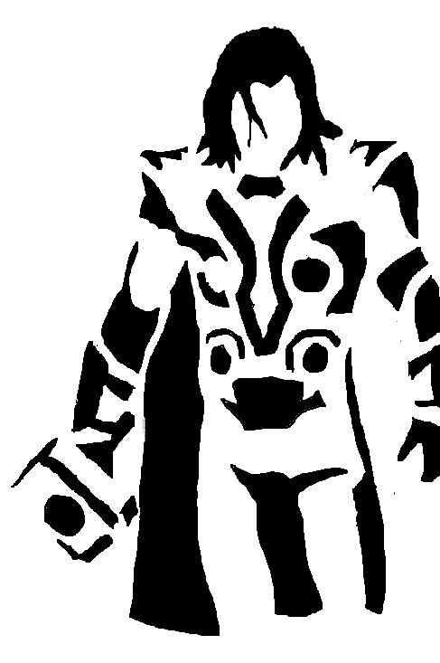 jpg Thor clipart black and white. Letters example jpg clipartix
