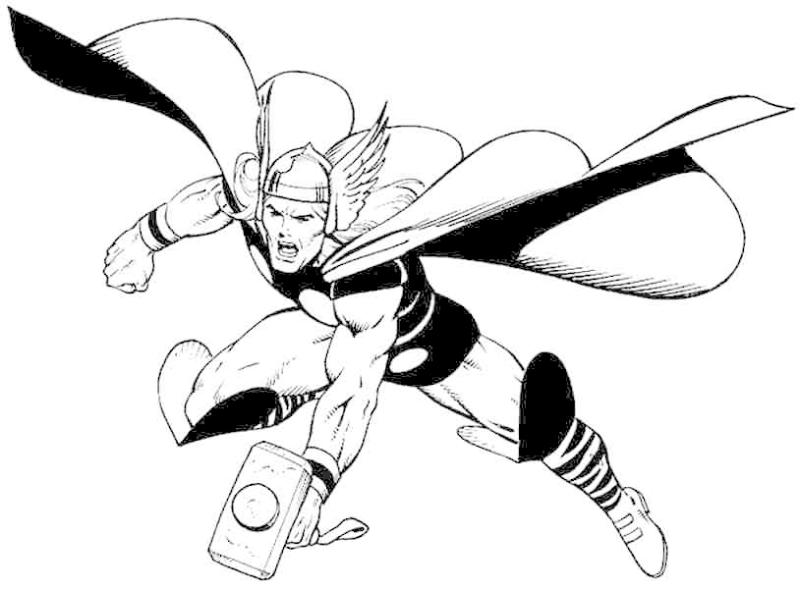 banner freeuse stock X free clip art. Thor clipart black and white