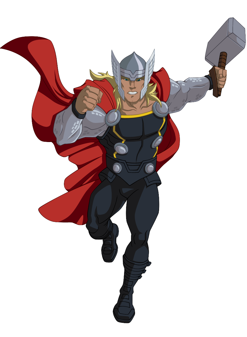 png black and white library Thor clipart cartoon character. Http img wikia nocookie