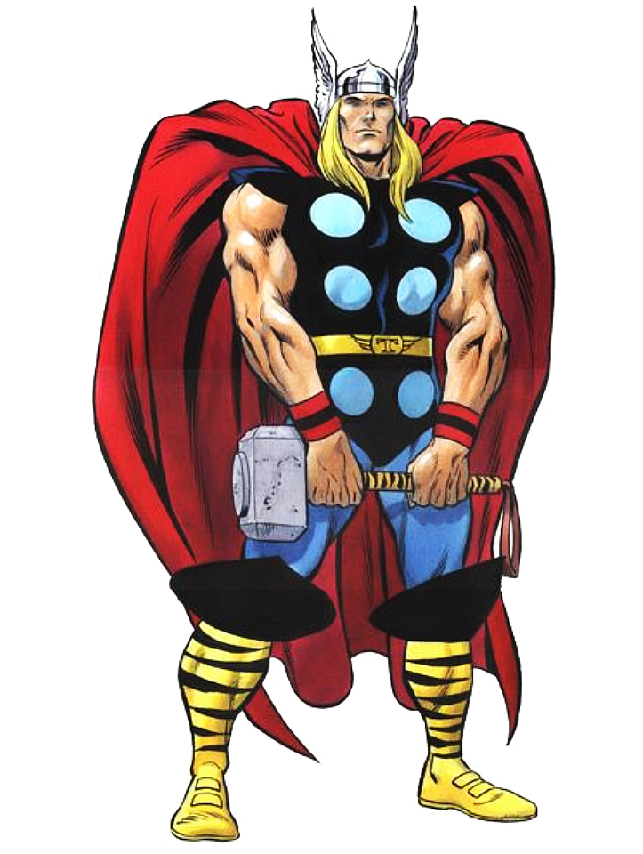 clip art freeuse Thor clipart classic. A change of character