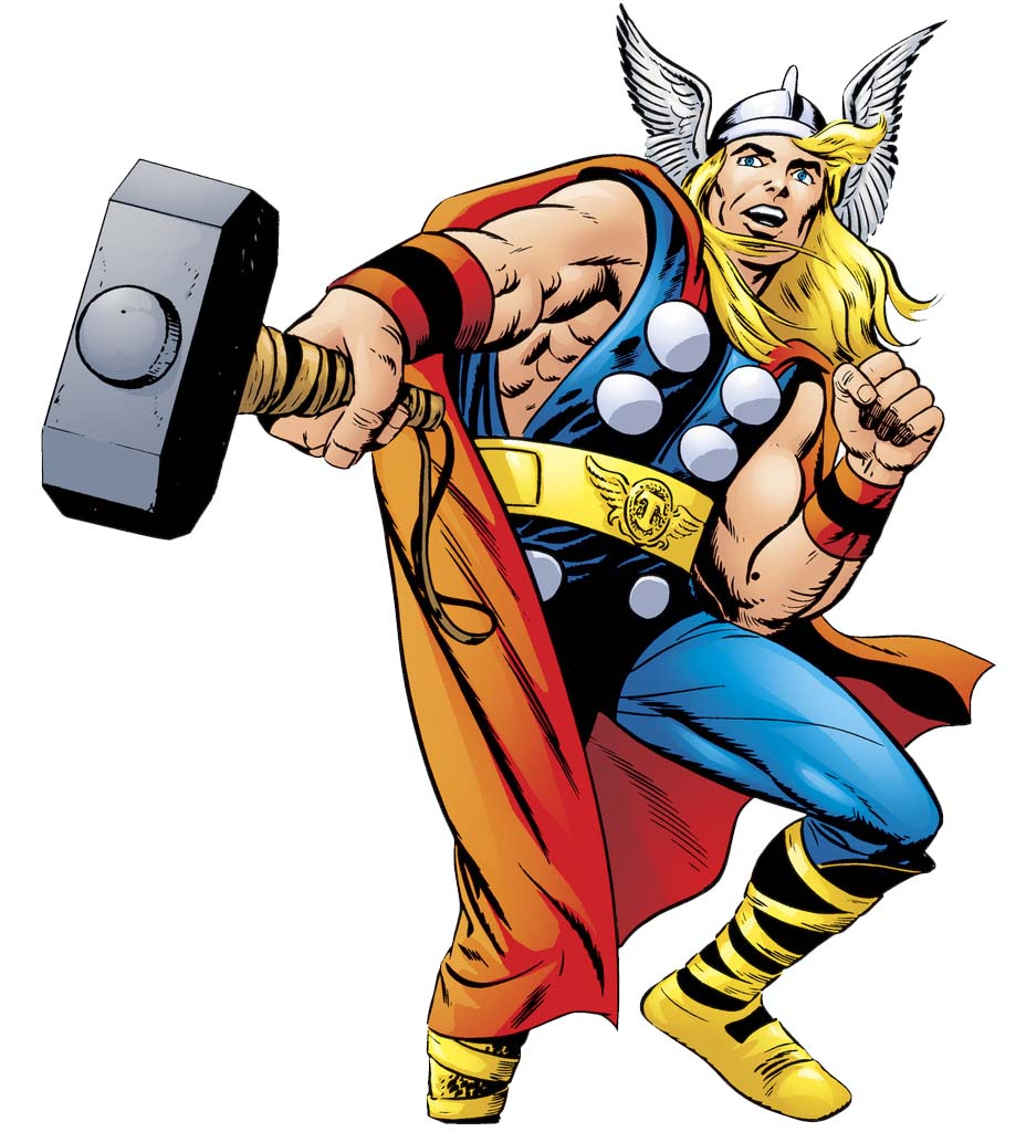 freeuse stock Thor clipart classic. Free download clip art