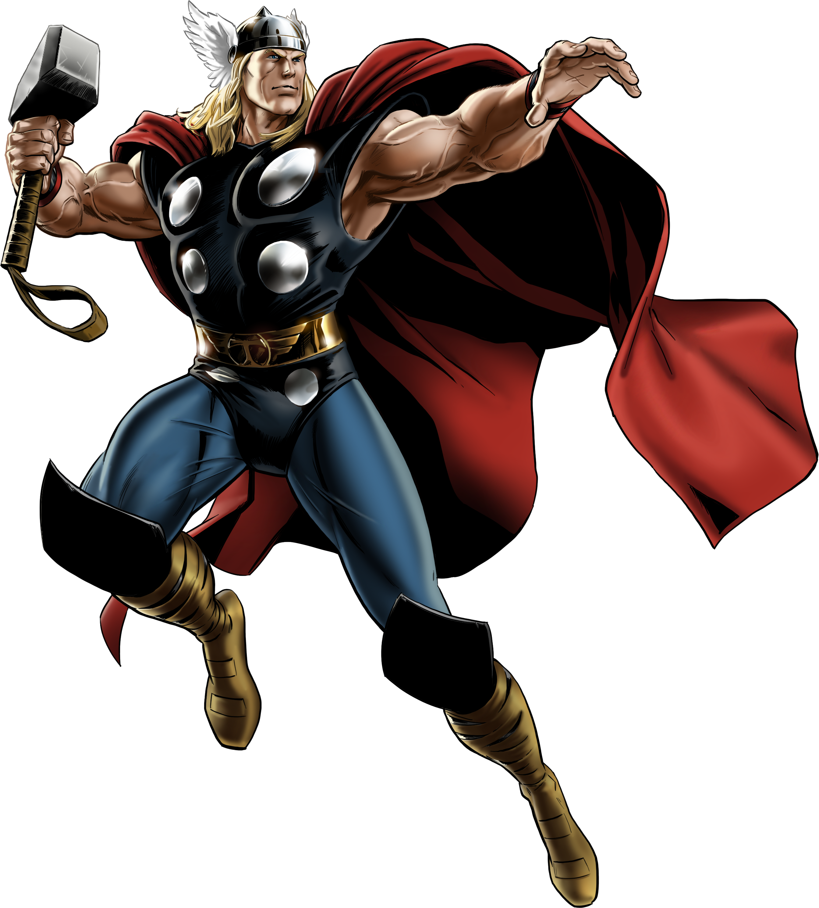 graphic free library For u. Thor clipart classic
