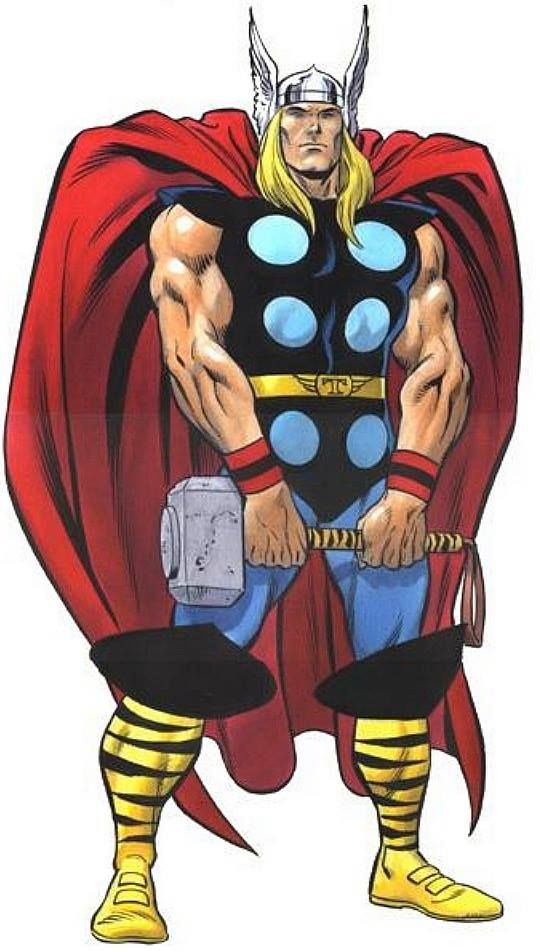 jpg free library Thor clipart classic. Building the perfect