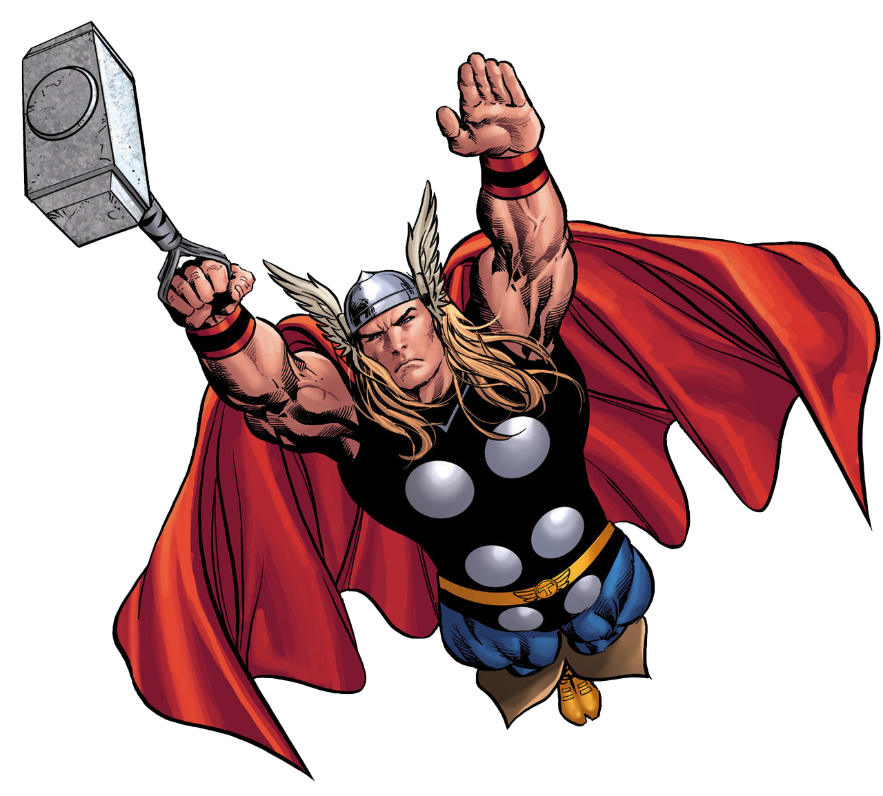 banner black and white The mighty marvel comic. Thor clipart classic
