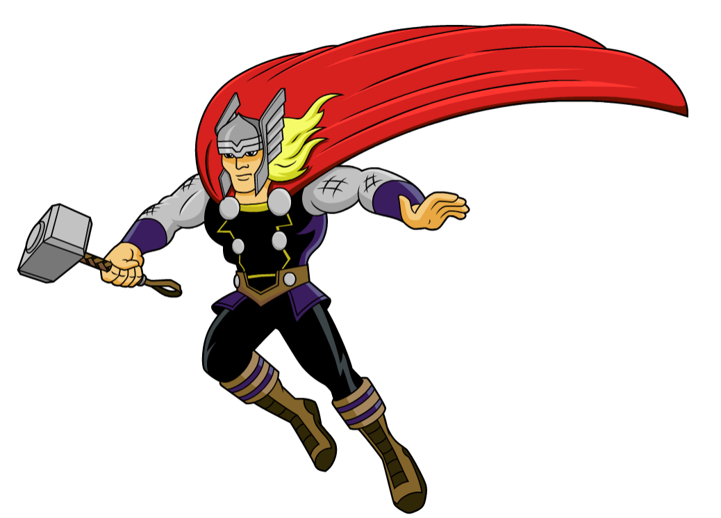 jpg freeuse library Thor clipart classic. Image mission marvel png