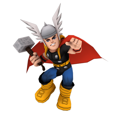 image royalty free Playable characters online these. Thor clipart super hero squad