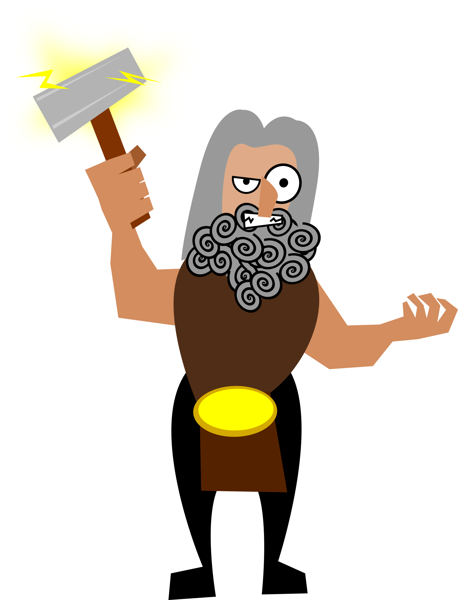 clipart library download Big image png. Thor clipart svg