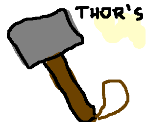 clip art S . Thor clipart thor's hammer