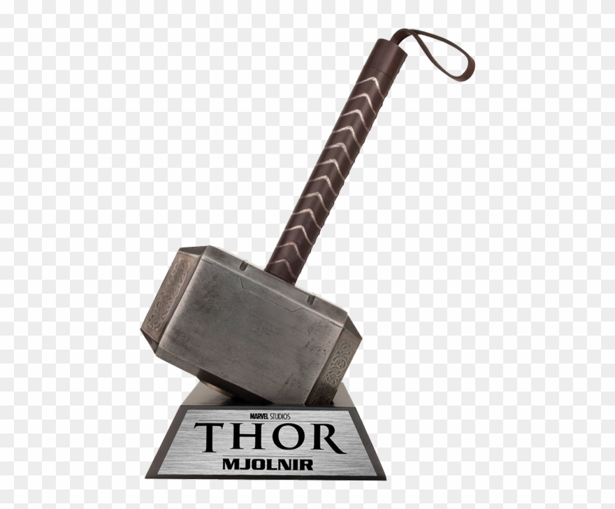 jpg stock Thor clipart thor's hammer. Marvel png download