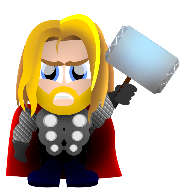 clip library Thor clipart tv series. Cartoon pencil and in