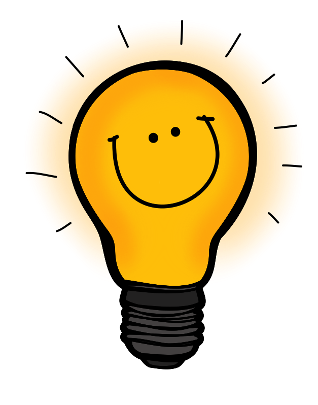 vector library download Thought clipart lightbulb. Transparent