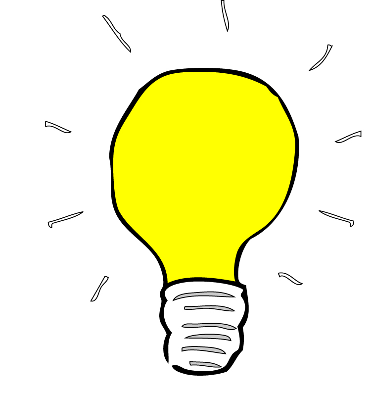 png library download Free light bulb images. Thought clipart lightbulb.